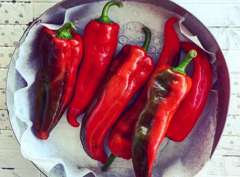 Peperoni gratinati, peperoni