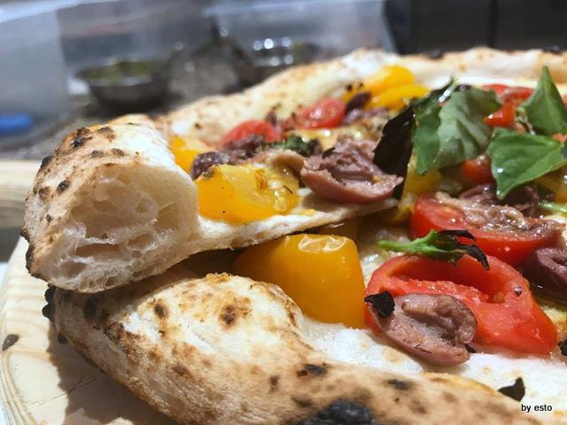 Pizz'Art Ciro D'Avanzo la pizza la struttura