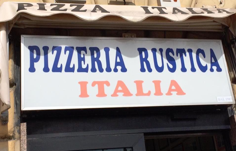 Pizzeria Italia, l'insegna