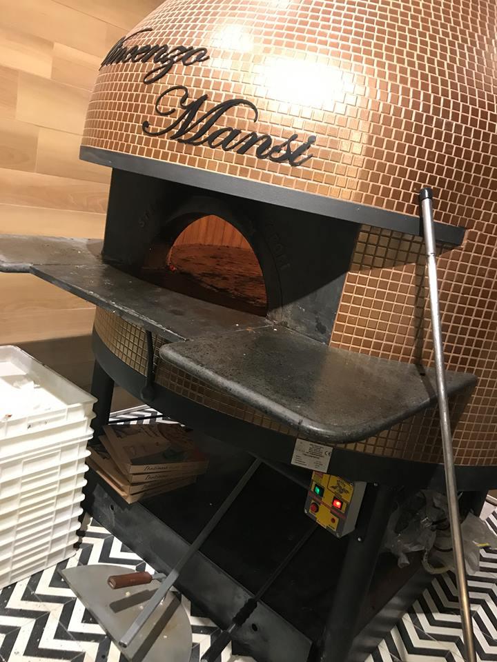 Pizzeria Vincenzo Mansi, il nuovo forno