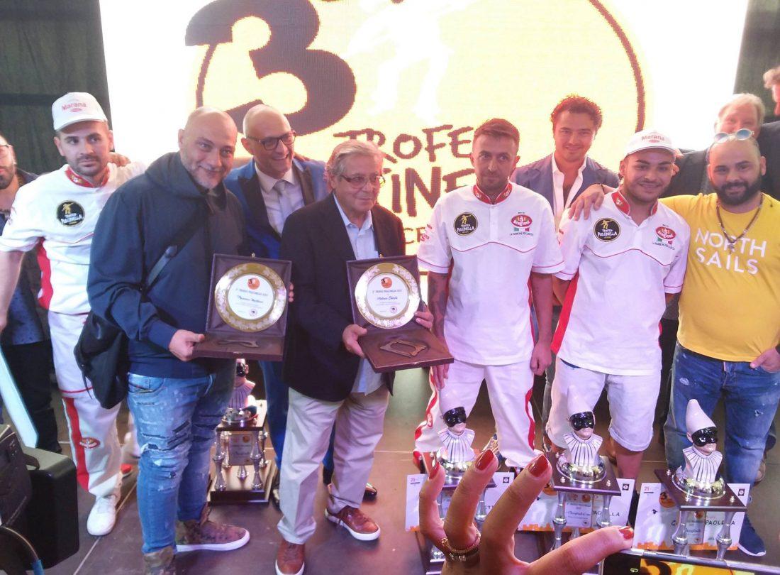 Trofeo Pulcinella, i vincitori premiati da Antonio Starita e Francesco Martucci