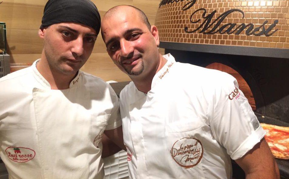 Vincenzo Mansi con il fratello Biagio