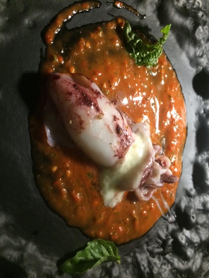Taverna del Capitano, calamaretto del Golfo ripieno