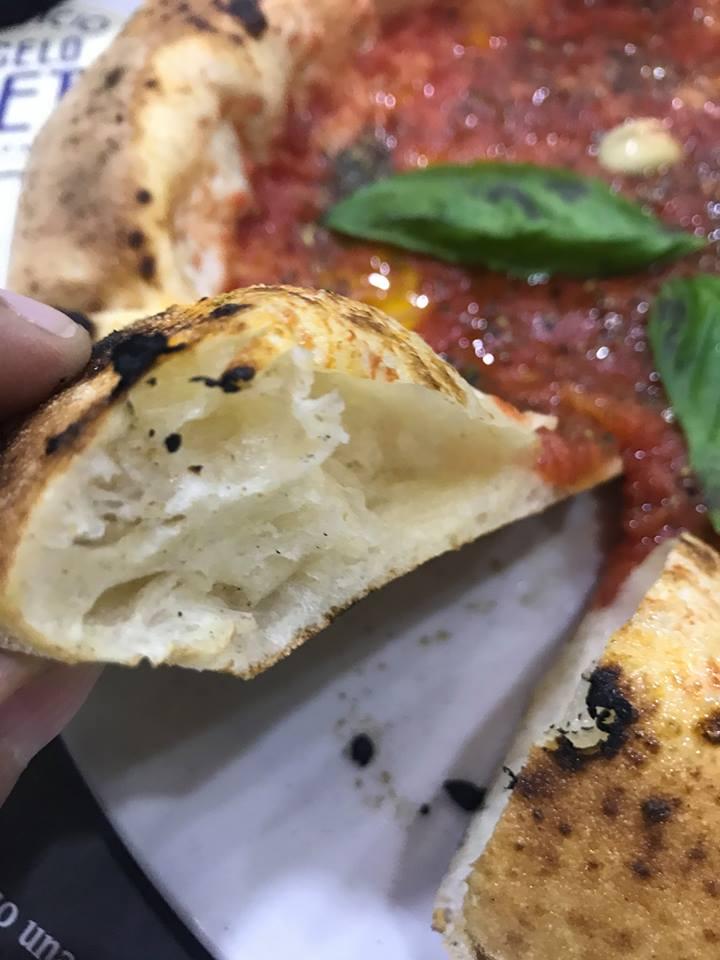 Officina della pizza, il cornicione