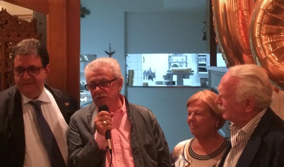 Taverna del Capitano, con Alfonso Iaccarino, Grazia Caputo e Guido Barendson