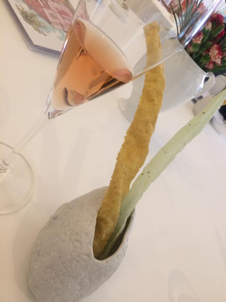 Don Alfonso, grissini e champagne