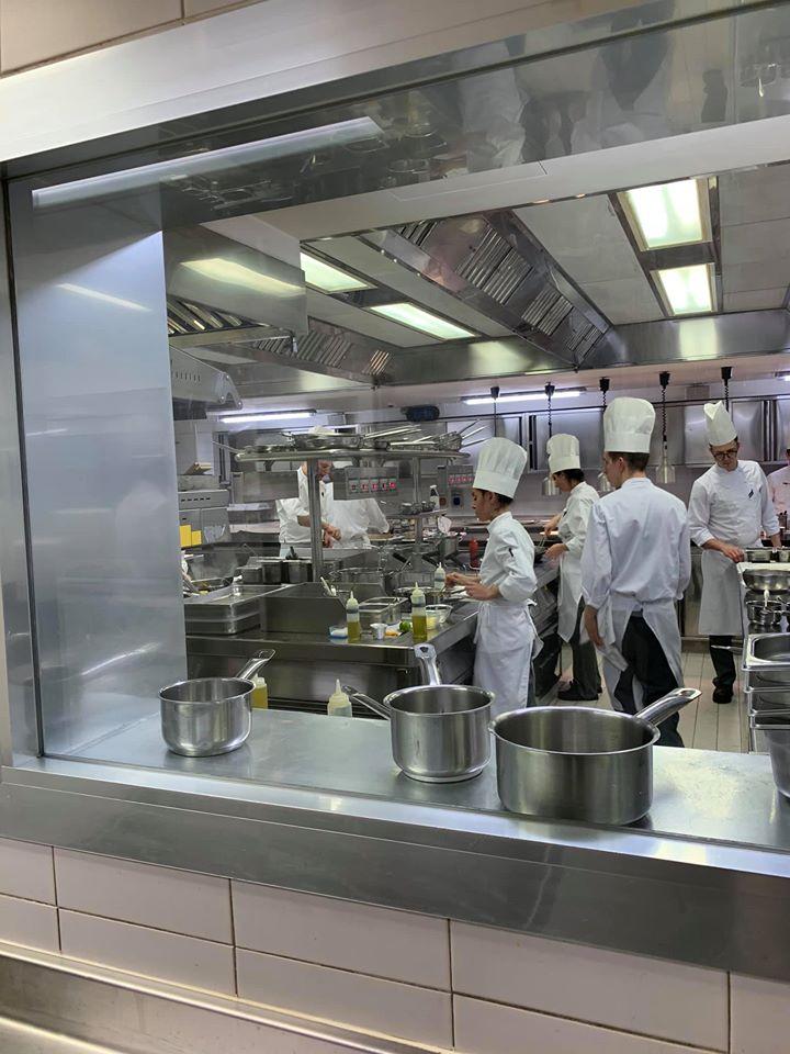 La Pergola - la cucina a vista