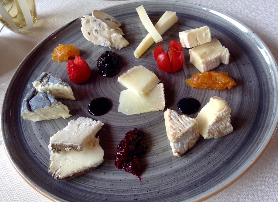 Al Vigneto, il piatto dei formaggi