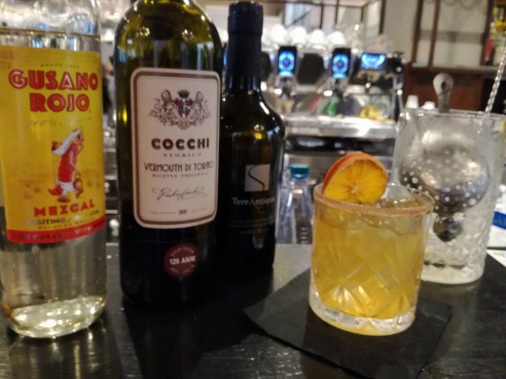 Andrea Leonardi e il suo cocktail