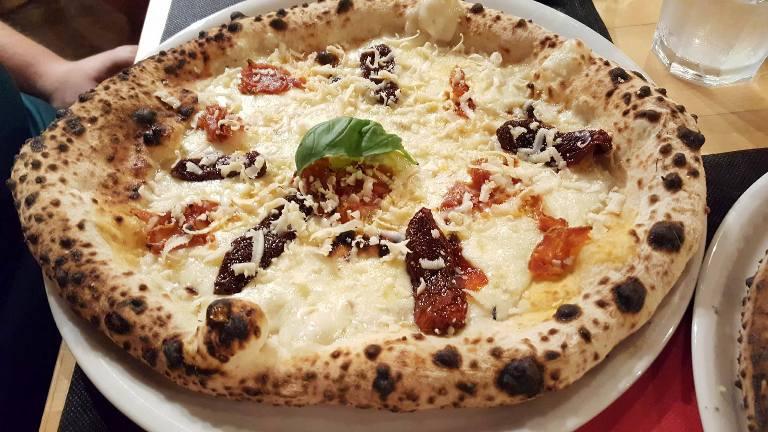 Antica Pizzeria De Rossi, la Arruscata