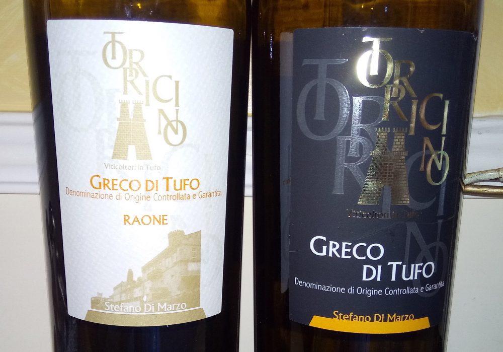 Bottiglie di Greco di Tufo Docg Torricino