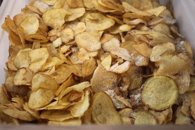 Cacio e pepe Festival da Eataly - Chips cacio e pepe de Er Suppli' di Alari
