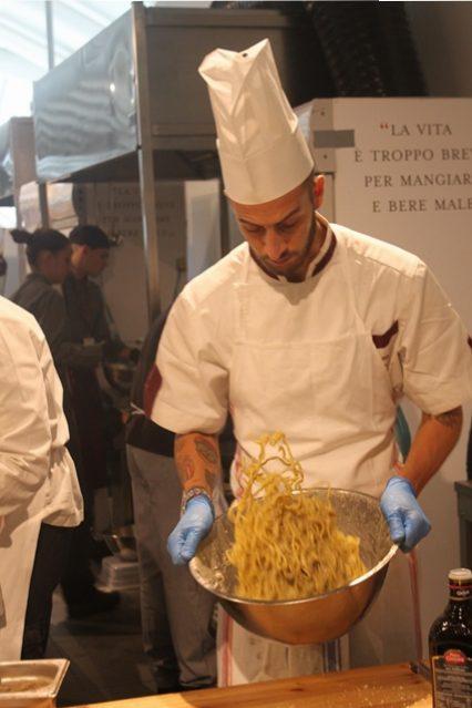 Cacio e pepe Festival da Eataly- Felice a Testaccio