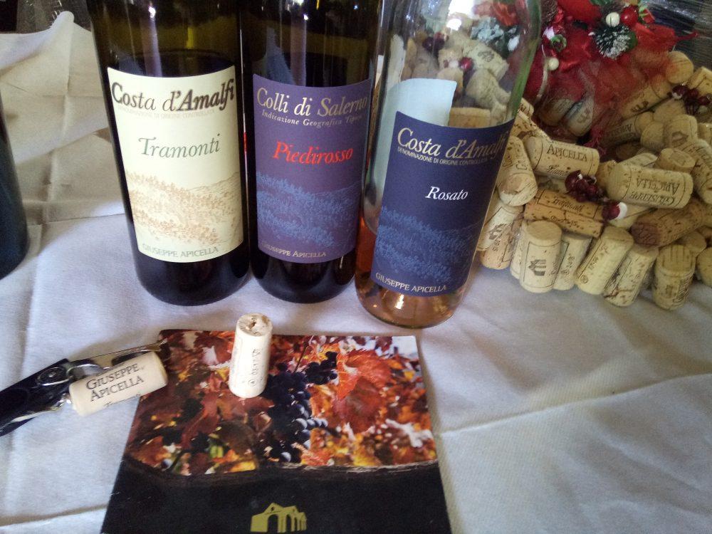 Cantine Apicella, vini