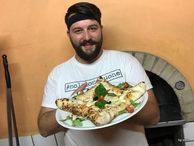 Casale Il Clanio Mario Porcaro Pizza Pergamena La Margherita