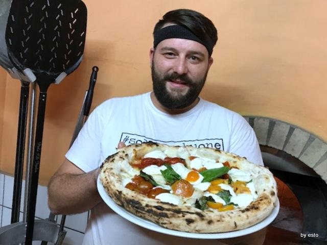 Casale Il Clanio Mario Porcaro Pizza ai quattro pomodori
