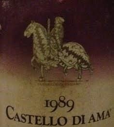 Chianti Classico DOCG Castello di Ama, Vigneto la Casuccia 1989