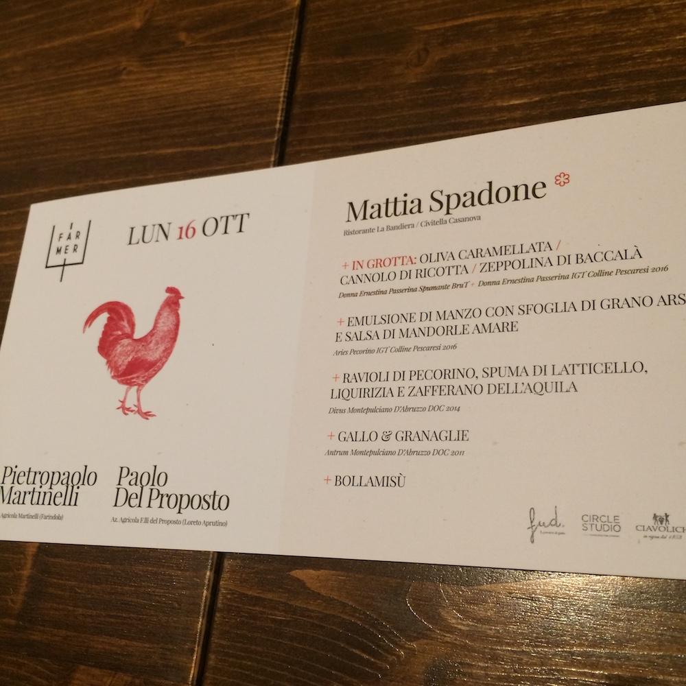 Ciavolich - Il Menu di Mattia Spadone