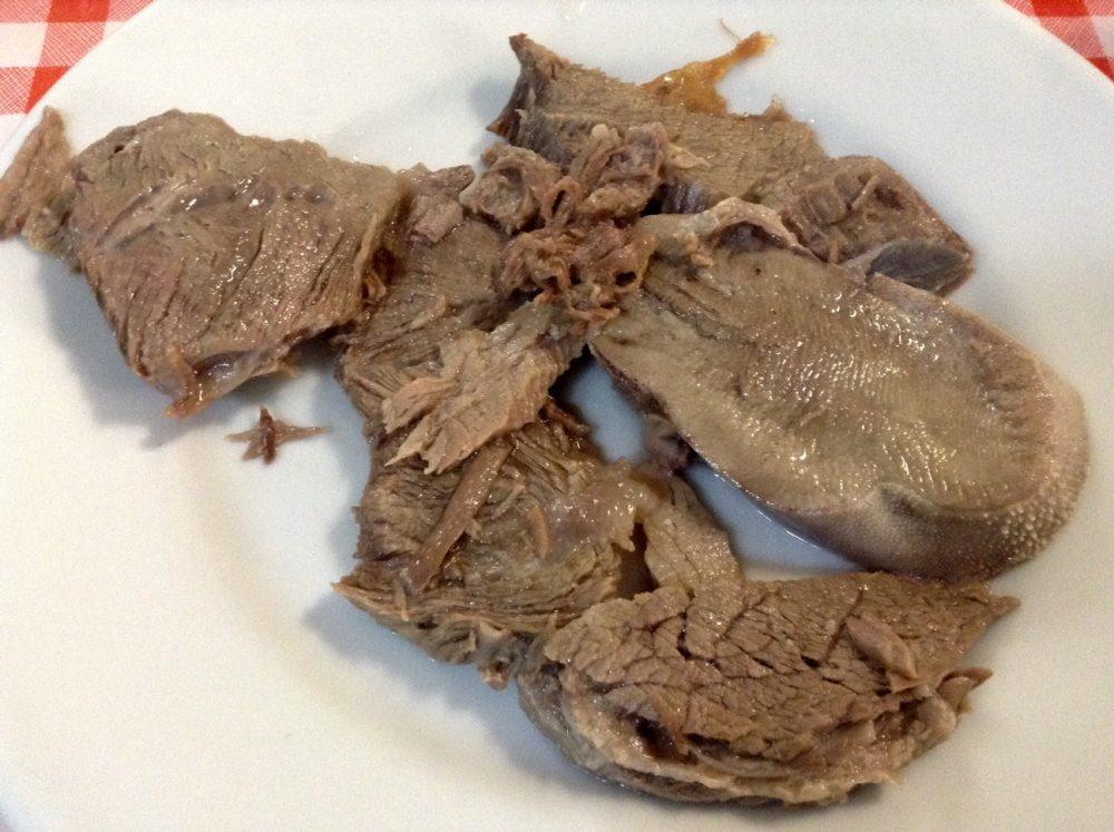 Da Basilio, Vimercate, il piatto del bollito