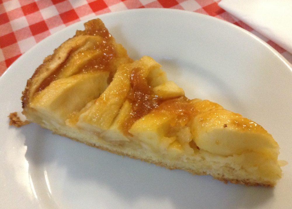 Da Basilio, Vimercate, torta di mele