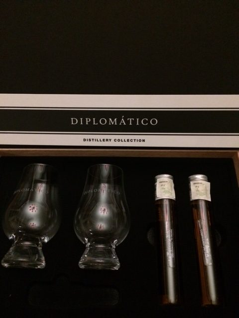 Distillery Collection provette di Rum N-1 e N-2 Diplomatico