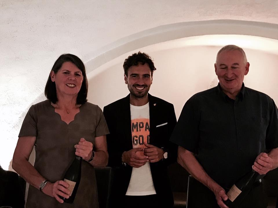 Emanuele Izzo con i Goulard