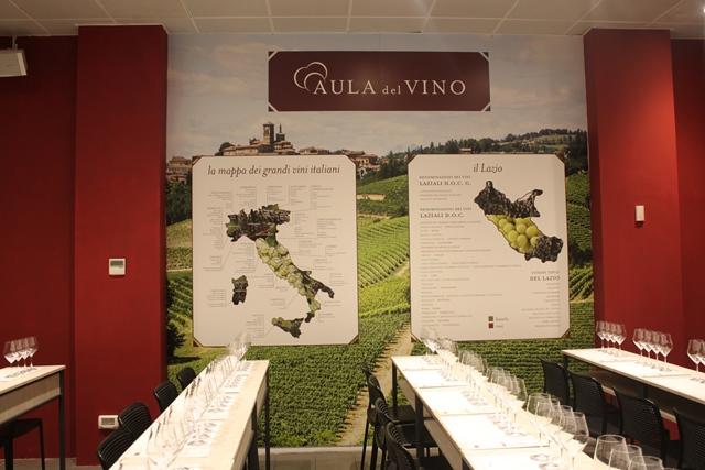 Enoteca di Eataly Roma - L'aula del vino