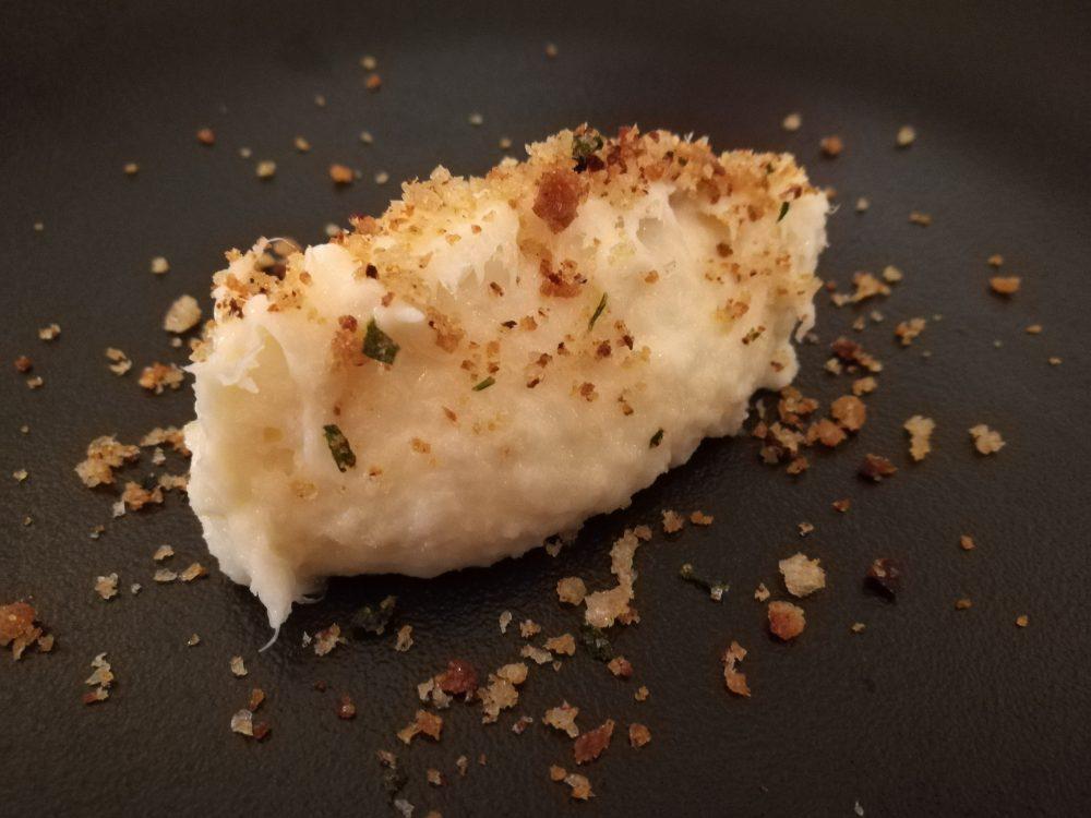 Existo - Osteria Molisana, La Mousse di Baccala' con pane aromatizzato