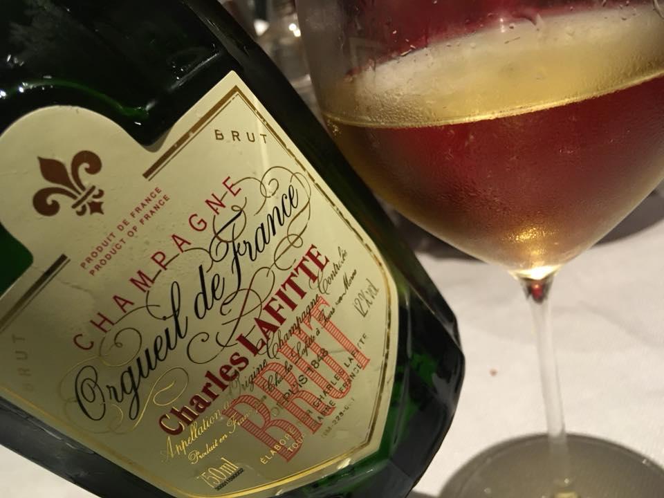 Ristorante Mamma Mia- Il Mio Champagne Per La Serata, Charles Lafitte Orgueil De France