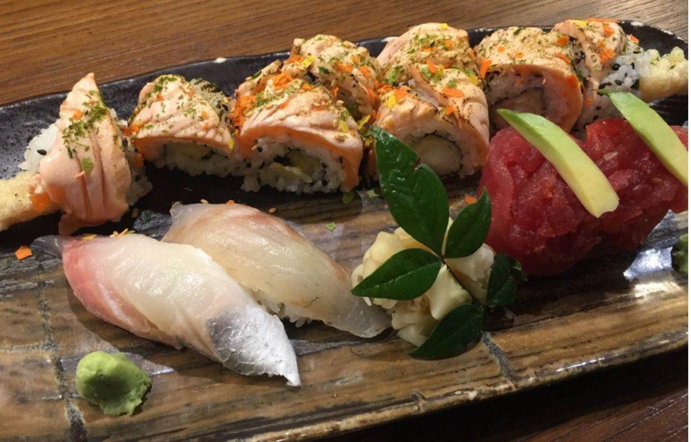 Sushiteca O-Ma-Ca'-Se' Misto, Sushi, Rolls e Tartare