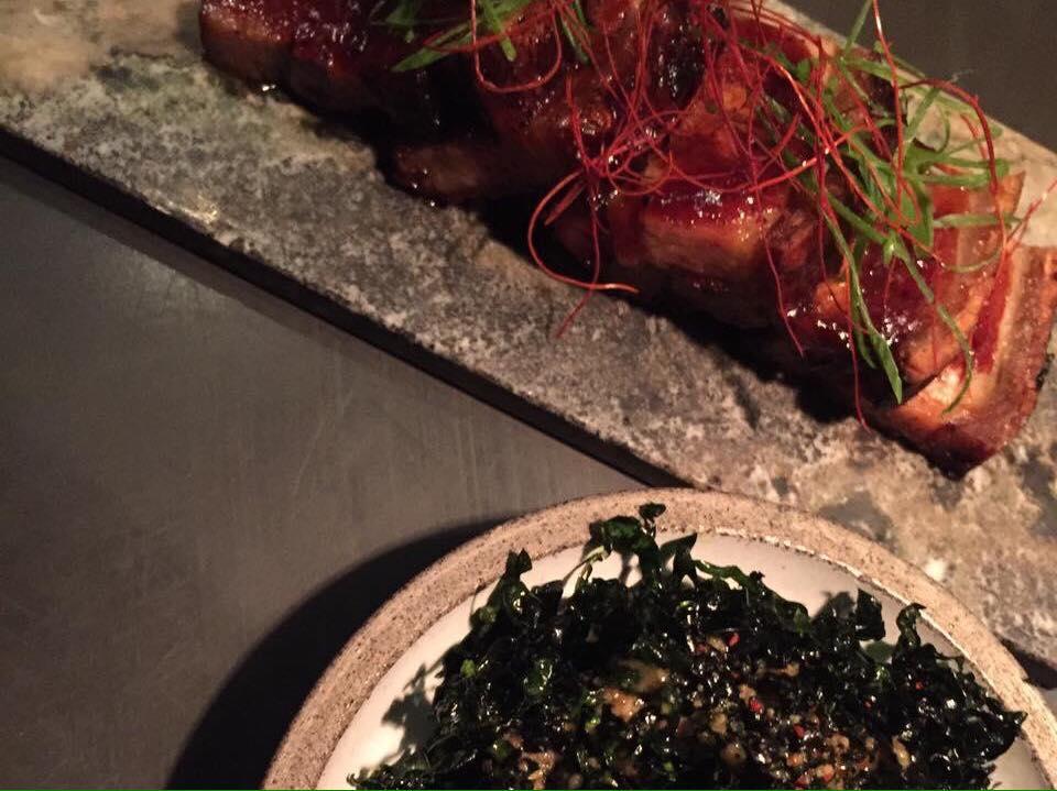 Shibumi -Glazed Pork Belly & Seaweed Spicy Chips