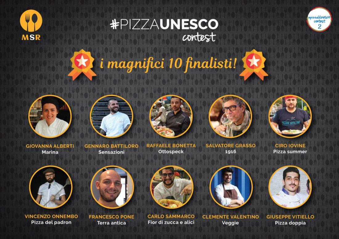 Finalisti del Contest PizzaUnesco