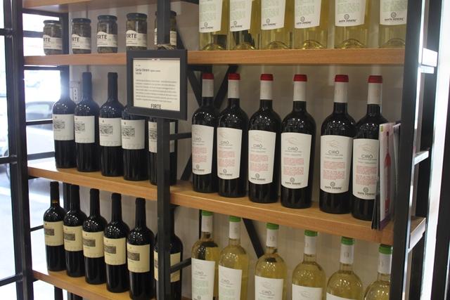Forte - vini in esposizione