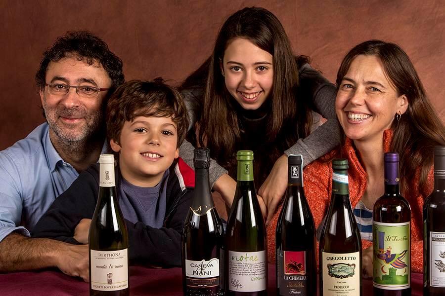 Gaetano Morella, Lisa Gilbee con i due figli