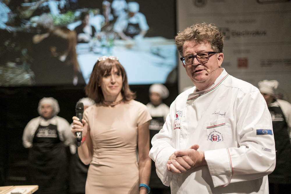 Meet in cucina Marche - Lucio Pompili con Alessandra Meldolesi