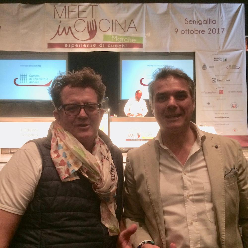 Meet in cucina Marche - Lucio Pompili e Andrea De Palma