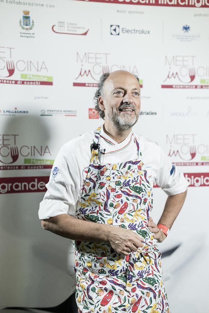 Meet in cucina Marche - Moreno Cedroni