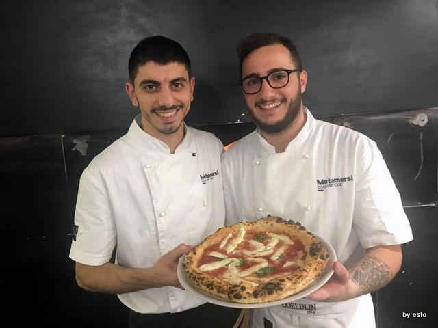 Metamorsi Carmine Nunziata e Gianni Ostetrico la margherita