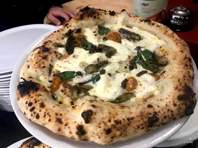 Metamorsi pizza Carciofina