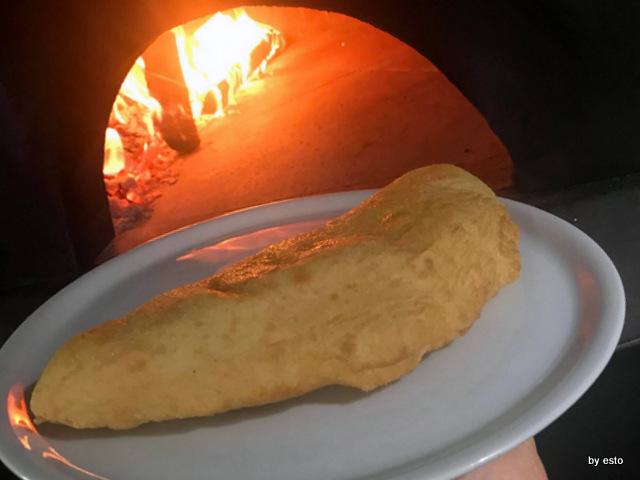 Metamorsi pizza fritta