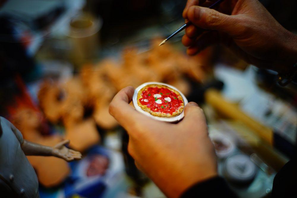 Metti il tuo pizzaiolo nel presepe di Ferrigno