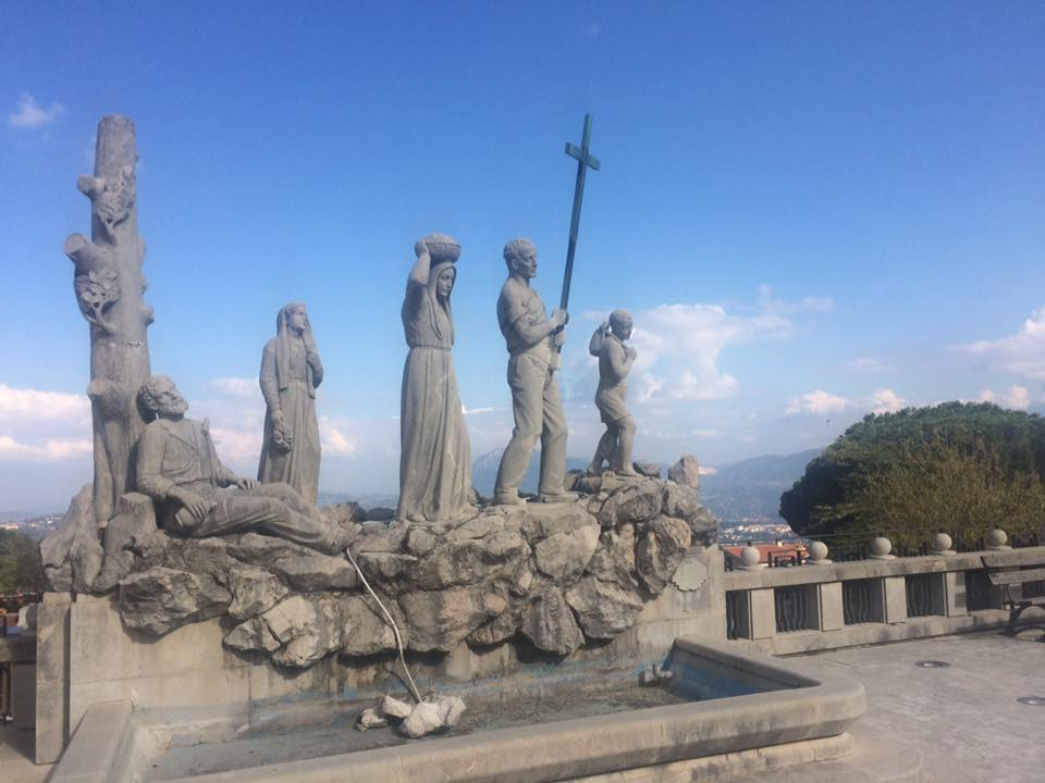Ospedaletto, monumento del pellegrino