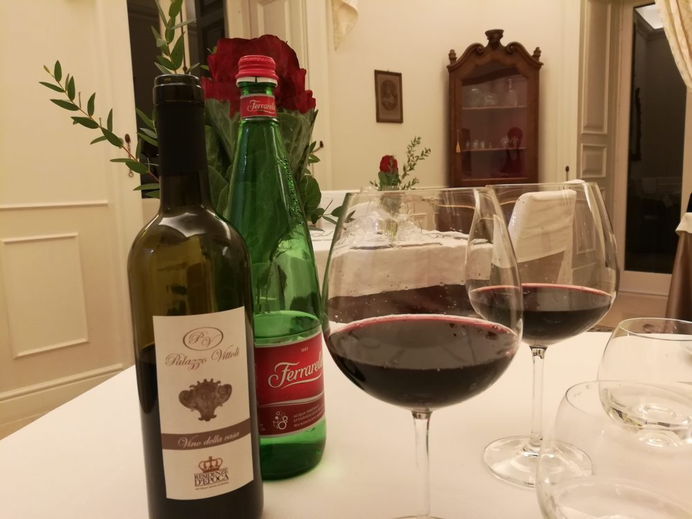 Palazzo Vittoli - il vino