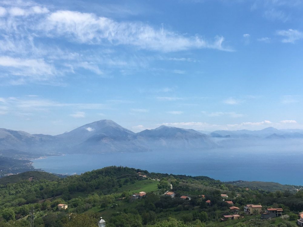 Panorama da Bosco frazione di S.Giovanni a Piro