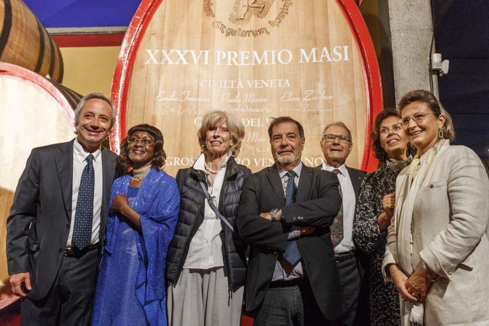 Premiati con Sandro Boscaini e Isabella Bossi Fedrigotti