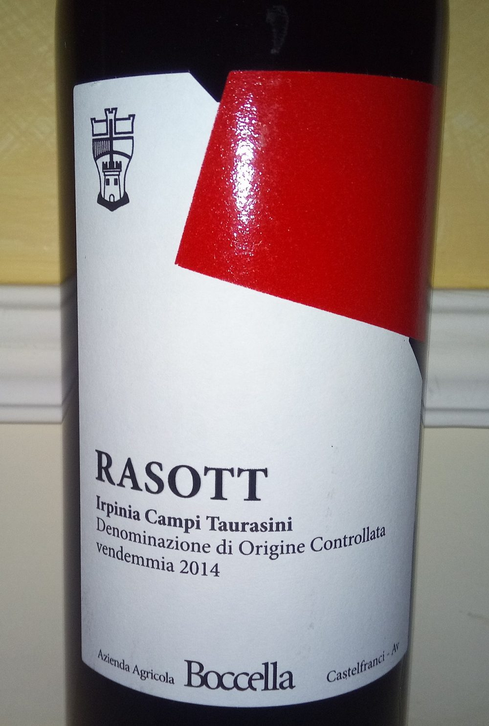 Rasott Irpinia Campi Taurasini Doc 2014 Boccella