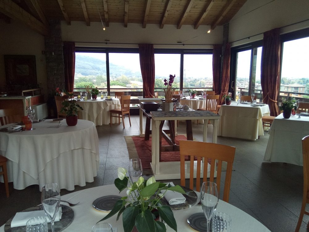 Ristorante Al Vigneto, Sala da pranzo panoramica