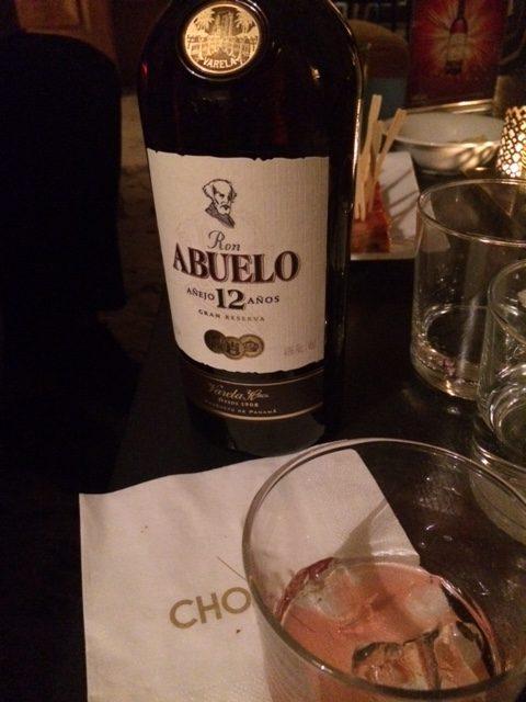 Rum panamense ABUELO 12 Anos
