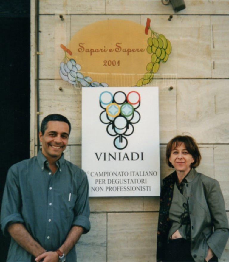 Stefano Carboni e la moglie Maria Grazia D'Agata
