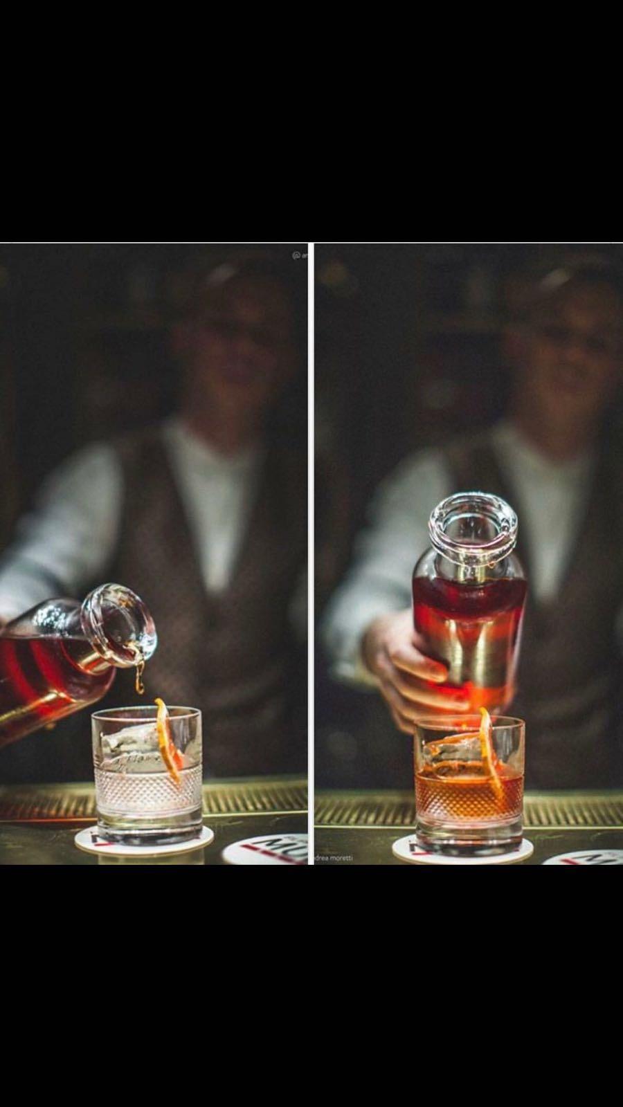 Thomas Cecere e il suo cocktail